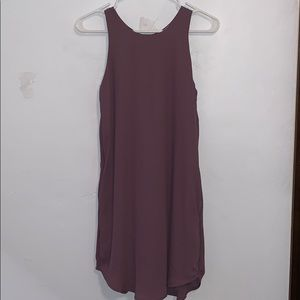 NWT Purple tank dress